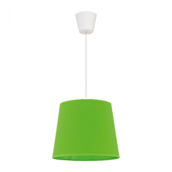 Edit Taper Easy Fit Ceiling Pendant Shade - Lime Green
