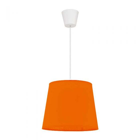 Edit Taper Easy Fit Ceiling Pendant Shade - Bright Orange