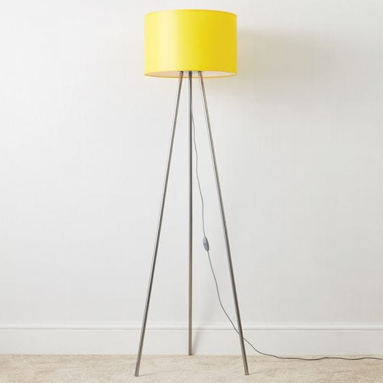 Edit Brighton Floor Lamp - Yellow