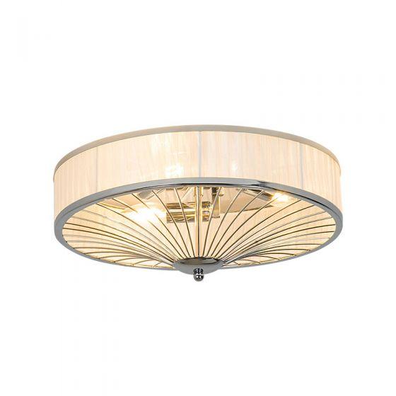 Edit Indulge Flush Ceiling Light - Chrome