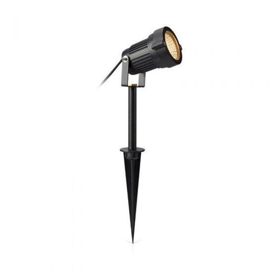 EasyFit 12v Garden Lights - Bloom LED Spotlight - Black
