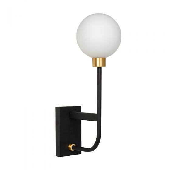 Lucide Berend Wall Light - Black
