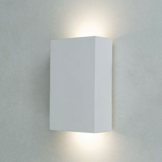 Edit Sutton LED Up & Down Plaster Wall Light