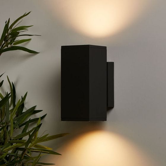 Edit Box Up & Down Outdoor Wall Light - Anthracite