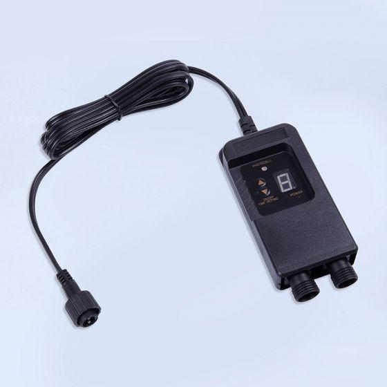 EasyFit 12V Garden Lights - Dusk to Dawn Sensor with Timer