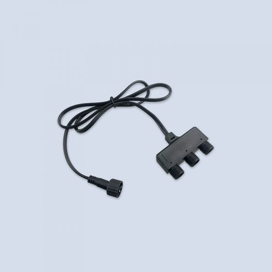 EasyFit 12V Garden Lights - Three Way Connector
