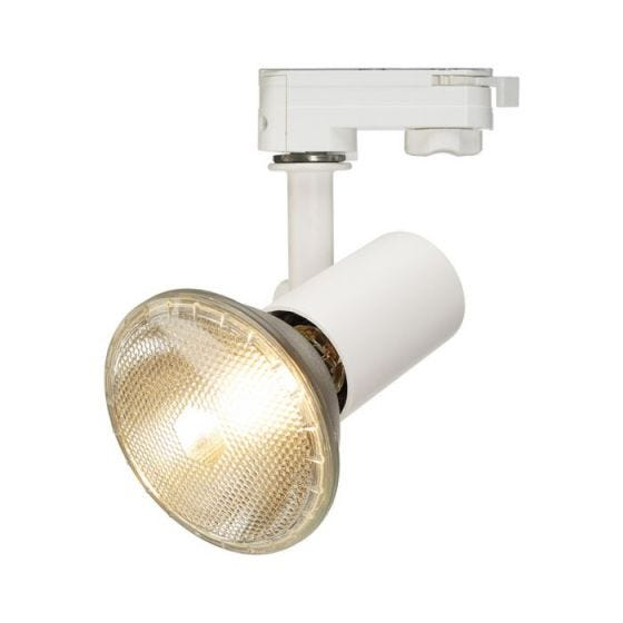 SLV E27 Spot 3 Circuit Track Light - White