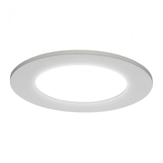 Luceco 6W Cool White LED Downlight - 120mm
