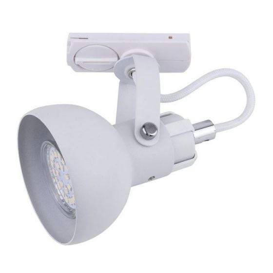 Academy 1 Circuit Track Light - White