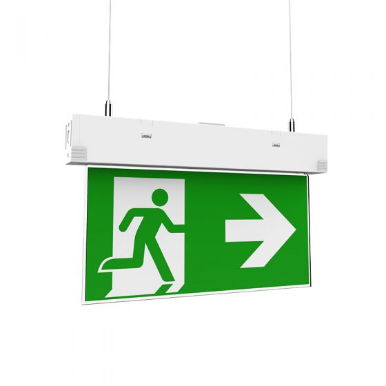 3W Daylight LED Emergency Dual Mount Exit Sign
