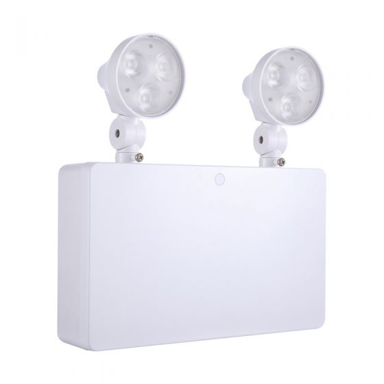 3W Daylight LED Emergency Twinspot