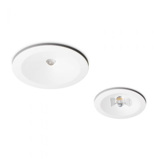 2.3W Daylight LED Emergency Downlight - Corridor