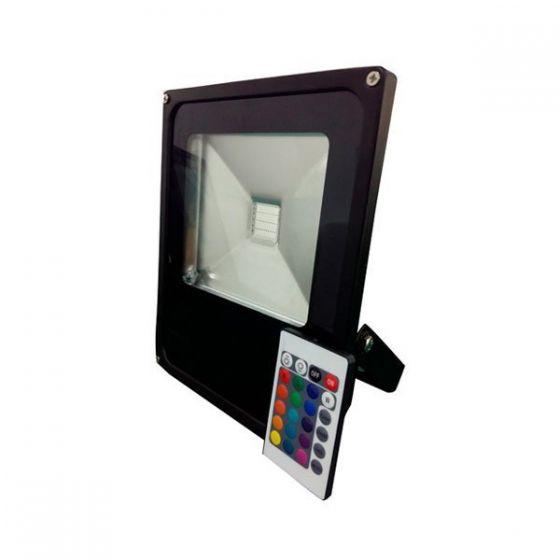 30W RGB LED Remote Controlled Floodlight
