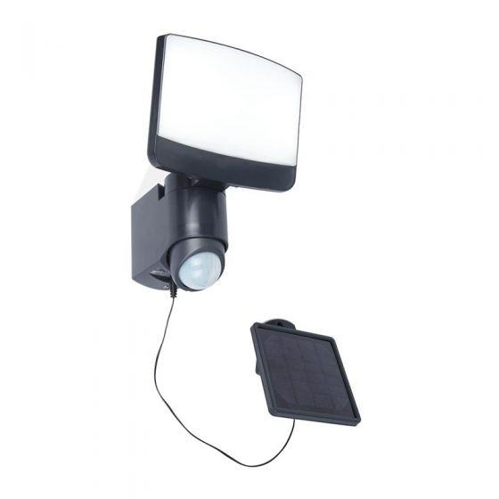 Lutec Sunshine 8W LED Solar Floodlight with PIR sensor