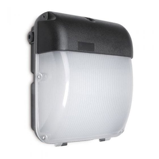 50W Cool White LED Outdoor Wall Pack Light with Microwave Sensor