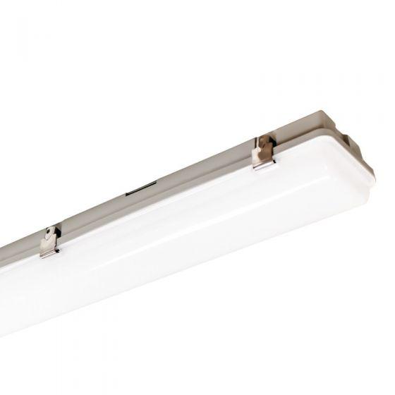 Perform 45W Cool White LED Emergency Weatherproof Batten - 4ft Twin