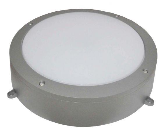 Alum 30W Daylight LED Outdoor Wall Light - Grey