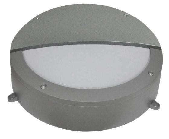 Alum 30W Daylight LED Outdoor Wall Light - Eyelid - Grey