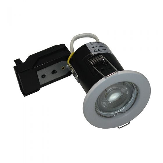 Evolve Fire Rated Fixed Downlight - White