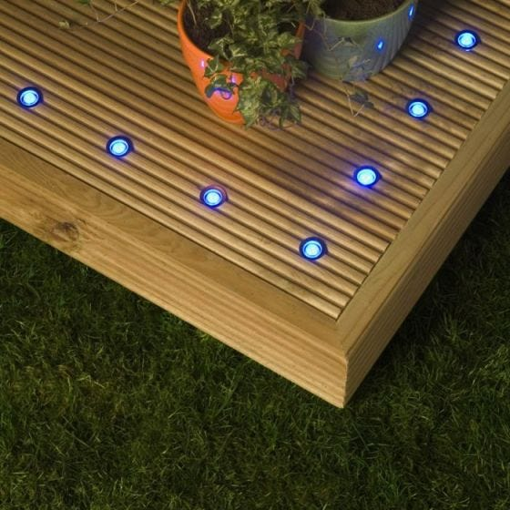 Robus Garland SMD Blue LED Walkover Lights - Set of 10