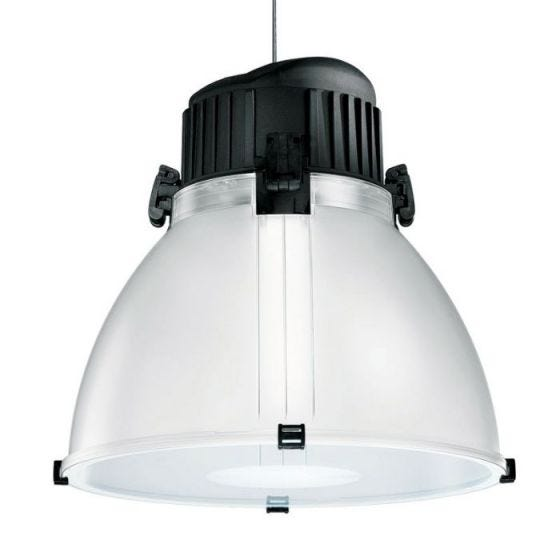 Ivela High Bay Light - Translucent/Black
