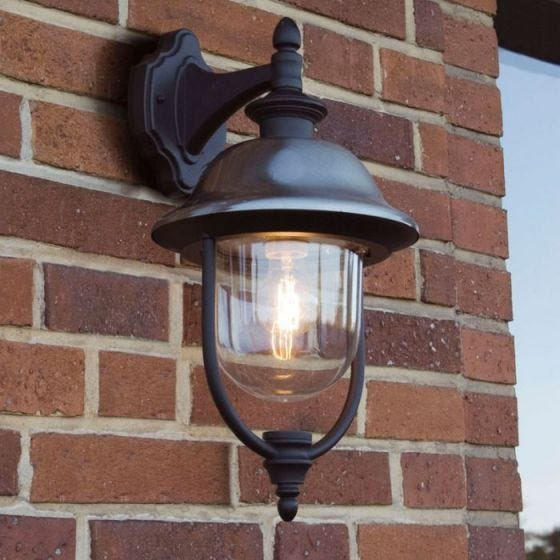 Konstsmide Parma Outdoor Hanging Lantern Wall Light