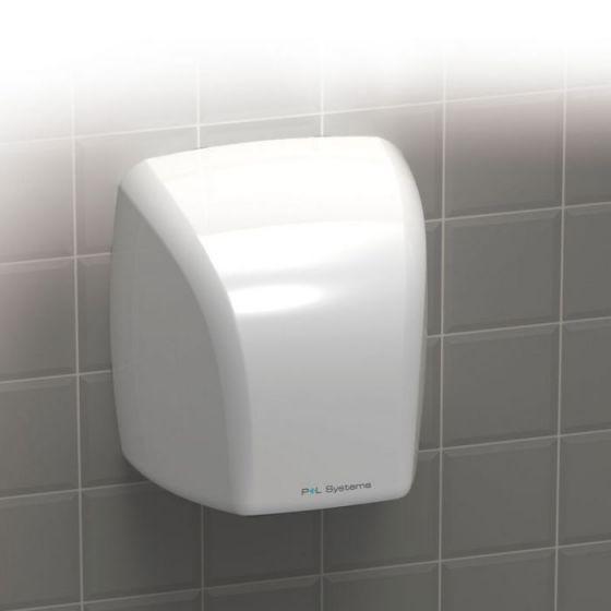 2.1kW Hand Dryer - White ABS Plastic