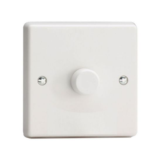 LED Compatible Dimmer 1 x 120W - White - Single