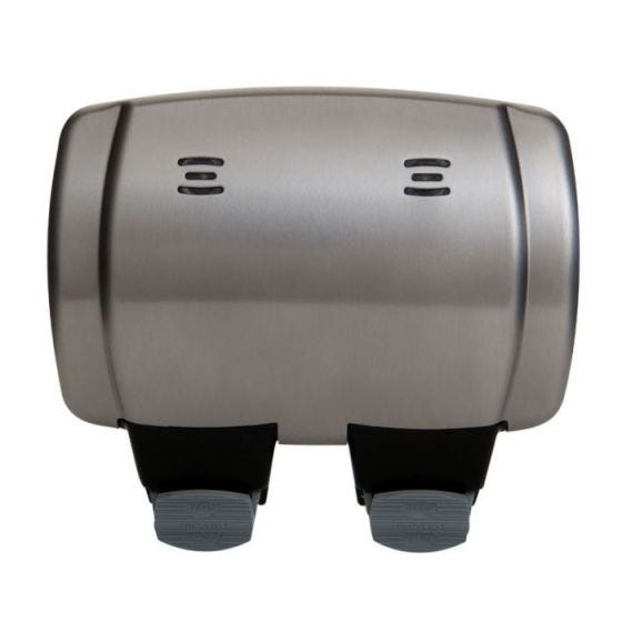 Decorative 2 Gang 13 Amp Outdoor Switched Socket - IP66