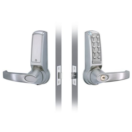 Electronic Door Lock - Stainless Steel