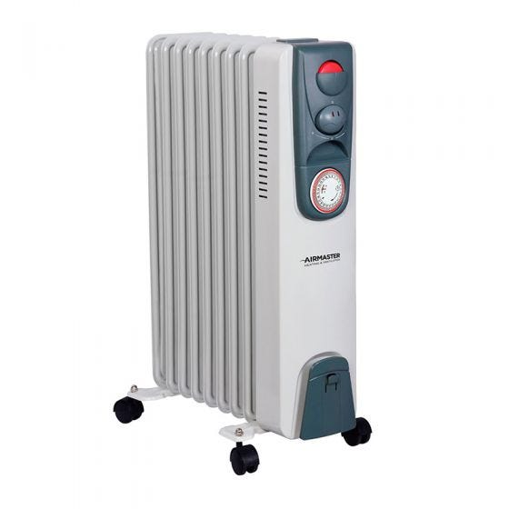 2kW Oil Filled Radiator with Timer