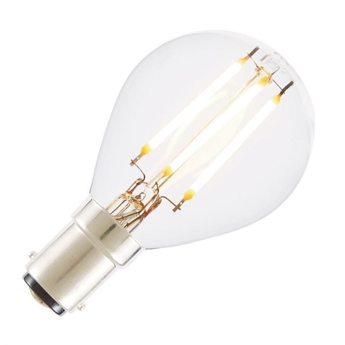 LAMP LED 4W CANDLE FLAME FIL 2700K E14 Beam Angle 300/° CCT 2700K Dimmable Not Dimmable Energy Rating