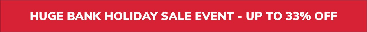 bank holiday sale up to 33% off