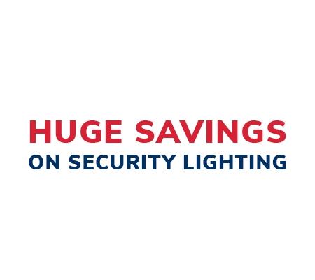 Huge Savings On Security Lighting