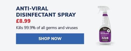 Anti-Viral Disinfectant Spray